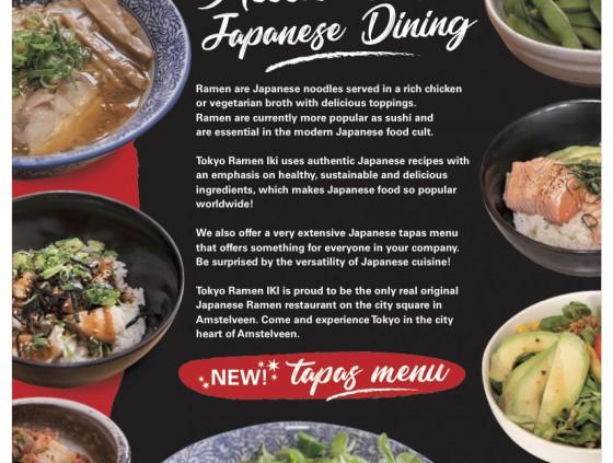 Tokyo Ramen Iki The Ramen Restaurant